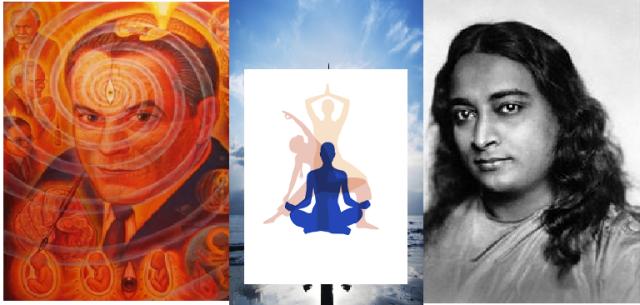 Resultado de imagem para Dr Grof com o Kriya Yoga de Yogananda
